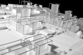 Makieta projektu przebudowy zachodnich peryferii Lozanny